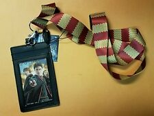 Harry Potter Gryffindor Scarf Lanyard with card holder