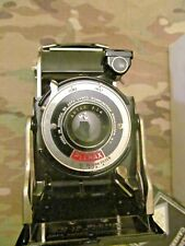 ART DECO AGFA ANSCO PD16 PLENAX, WITH BOX ,PAPERWORK AND REDUCING PLATE
