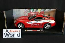 "Hot Wheels Elite Ferrari 599 GTB Fiorano 1:18 red ""Panamerican 20.000"" (PJBB)"