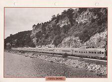 TRAINS DE LEGENDE - VISTA-DOME  CALIFORNIA ZEPHYR PHOTO / FEUILLE CLASSEUR