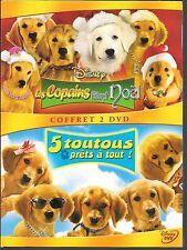 2 DVD / 2 FILMS--WALT DISNEY--LES COPAINS FETENT NOEL & 5 TOUTOUS PRETS A TOUT