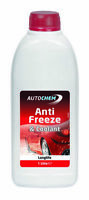Autochem Red Longlife Antifreeze & Summer Coolant  Concentrated 1L