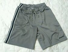 gray black white, sport shorts , Old navy, stripe medium, polyester,