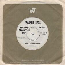 Lorraine Ellison I Got My Baby Back Warner Bros WB 5850 Demo Soul Northern Motow