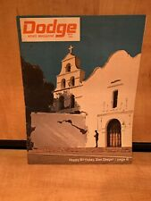 Dodge News Magazine 1969 May 200th Birthday San Diego Yale World Leader