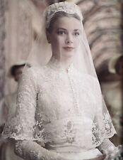 PRINCESS GRACE KELLY WEDDING DRESS 8X10 GLOSSY PHOTO PICTURE