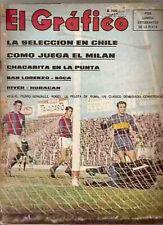 MILAN Europe Champion 1969 vs AJAX (4 x 1) Magazine Argentina