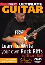 Learn to Write Your Own Rock Riffs Ultimate Guitar Series Lick Library 000393069