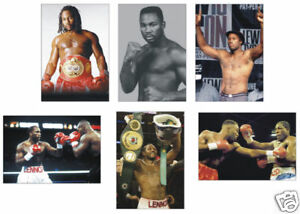 Lennox Lewis Boxing Legend POSTCARD Set