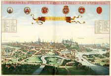 Cracovia Krakow Poloniae Polen von Johannes Janssonius Antik Reproduktion Karte