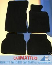 BMW F12/F13 6 SERIES COUPE / CONV. 2011 on TUFTED BLACK CAR MATS + 4 x PADS B