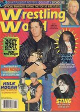 Wrestling World June 1997 Bret Hart, Rowdy Roddy Piper VG 050416DBE