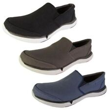 Canvas Loafers & Slip Ons Solid Casual Shoes for Men
