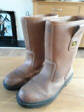 MEN'S WORKFORCE BOOTS...SIZE 10 UK....44EUR...IN GOOD USED CONDITION