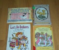 Lot 4 Arnold Lobel HC Books Lets Be Indians~Someday~King Rooster Queen Hen~Oscar