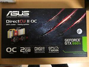 ASUS NVIDIA GeForce GTX 660 Ti (GTX660 TI-DC2O-2GD5) 2GB GDDR5 SDRAM PCI Express