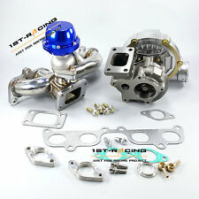 GT35 Turbo + T3 Manifold + 38mm Wastegate For Toyota 2RZ-FE 2.4L / 3RZ-FE 2.7L