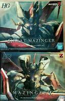 Bandai model kit HG 1/144 Mazinger Z + Great Mazinger Infinity NUOVI