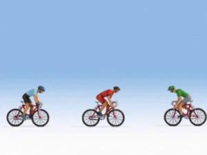 Noch 36897 N Gauge Racing Cyclists Figures