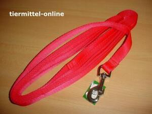 Schleppleine, Fährtenleine aus Nylon 10m / 20mm rot