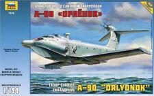 "Zvezda 1/144 Troop Carrier Ekranoplan A-90 ""Orlyonok"" # 7016"