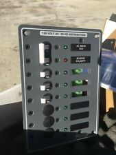 Blue Sea 8027 AC Main +6 Position Breaker Panel White Switches 8027