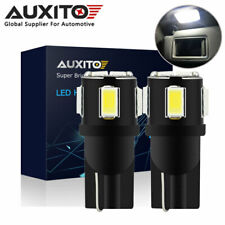 2X AUXITO CANBUS T10 2825 168 CANBUS LED Interior Dome Wedge Light Bulb 6000K