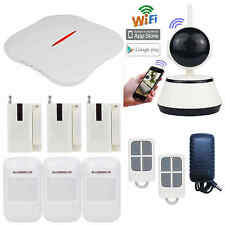P88 APP Set WIFI PSTN Wireless Home Security Alarm Burglar System+HD IP Camera