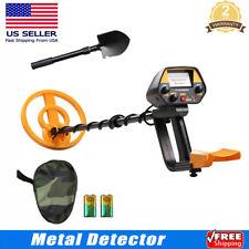 Waterproof Pinpoint Metal Detector Gold Digger Finder Deep Sensitive Hunting Us