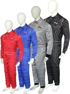 Adult Karting/Kart/Race/Rally suits Adult Cherry One Piece 2 Layers Karting Suit