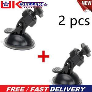 2x Suction Cup Car Windshield Dash Cam Holder Sport DV DVR Camera Mount  ❇