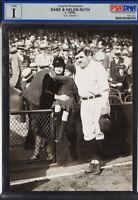1920s Babe Ruth & Helen Ruth Original Photograph by E.E. Haynes-🔥PSA/DNA Type 1