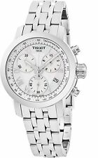 Tissot Women's PRC 200 Stainless Steel Chronograph Quartz Watch T0552171111300