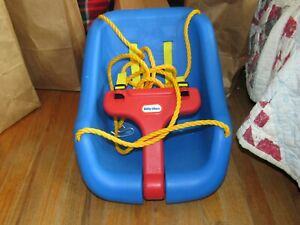 Vintage U.S.A. Little Tikes Blue Swing For Babies and Toddlers Maybe Never Used