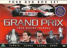 GRAND PRIX TRUE RACING LEGENDS Juan Manuel Fangio Ayrton Senna Niki Lauda & Hunt