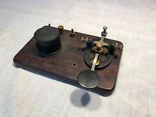Vintage Signal Electric Telegraph Key Sounder Buzzer - Morse Code Console