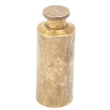 Original 19th Century Martini-Henry & Snider Rifle Flat Top Brass Oil Bottle