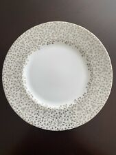 Martha Stewart By Wedgwood Bouquet Silver 9� Accent Plate