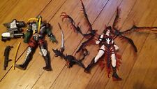 McFarlane Toys Spawn Series 5 Widow Maker & Nuclear Spawn 2 Loose Figures 1996