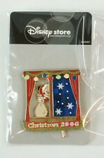 Disney Store JAPAN Pin Christmas 2006 Mickey Moving Window