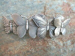 Twin butterfly barrettes