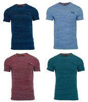 Superdry Mens Orange Label Crew Neck Short Sleeve T Shirt Navy Blue Red Teal