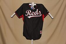 "CINCINNATI REDS  Authentic  MAJESTIC  ""Cool Base""  JERSEY   size 40  NWT  black"