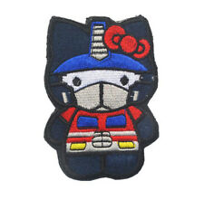 TRANSFORMERS OPTIMUS PRIME HELLO KITTY MORALE HOOK PATCH SWAT EMBROIDERED BADGE