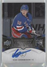 2018 Ice Exquisite Collection Platinum Rookies /199 Lias Andersson Rookie Auto
