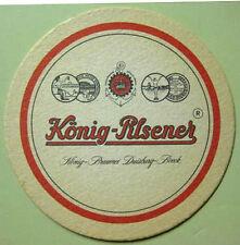 KONIG-PILSENER Beer COASTER, Mat, GERMANY
