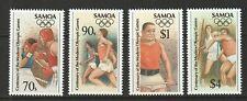 Samoa 1996 Atlanta Olympics Set UM