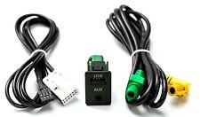 USB AUX Einbau Buchse Adapter passend für VW Radio RCD 300 310 510 Golf Passat