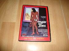 LA MUJER DEL JUEZ EN DVD CON NORMA DUVAL REMASTERIZADA DIGITALMENTE DE MERCURY