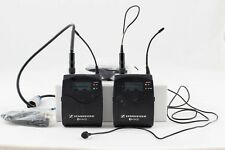 Sennheiser EW100 G2 Transmitter Receiver and lavalier microphone.